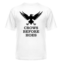 Футболка Crows before hoes