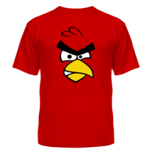 Футболка Angry birds Red - красная птица