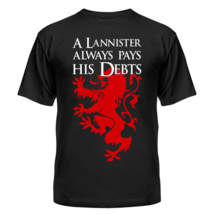 Футболка A Lannister always pays his debts