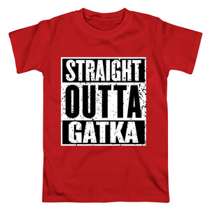 Футболка Straight outta Gatka