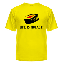 Футболка Life is hockey