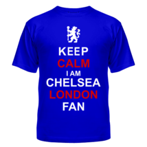 Футболка Keep calm I am Chelsea London fan