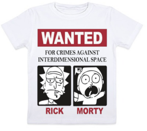 Футболка детская Wanted Rick and Morty