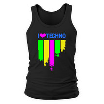 Майка I love techno