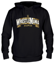 Толстовка Wrestlemania gold logo