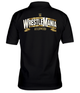 Поло Wrestlemania gold logo