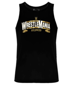 Майка Wrestlemania gold logo