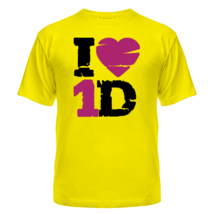Футболка I love 1 Direction