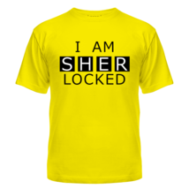 Футболка I AM SHERLOCKED
