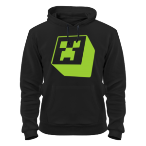 Толстовка Minecraft creeper green