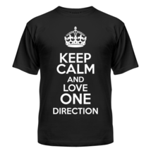 Футболка Keep calm and love One Direction