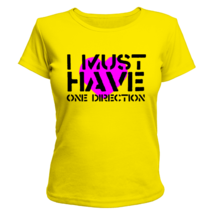Футболка женская I must have One Direction