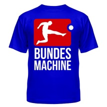 Футболка Bundes machine, football