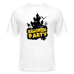 Футболка Halloween party