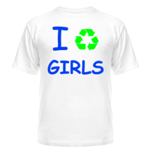 Футболка I Recycle Girls