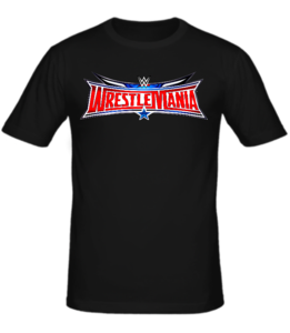 Футболка Wrestlemania logo