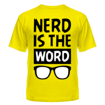 Футболка Nerd is the Word