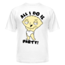 Футболка All i do is party!