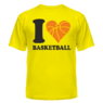 Футболка I love Basketball 3