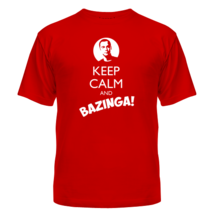 Футболка Keep Calm And Bazinga