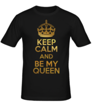 Футболка Keep calm and be my queen