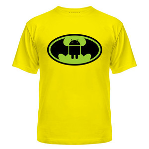 Футболка Android, Batman
