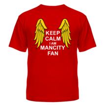 Футболка Keep calm I am Manchester City fan