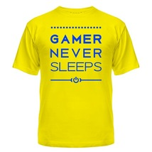 Футболка Gamer never sleeps