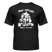 Футболка iron asylum bodybuilding