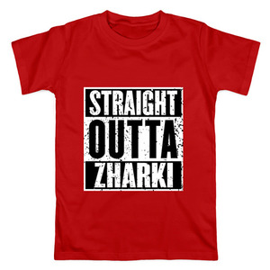Футболка Straight outta Zharki
