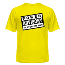 Футболка Poker Advisory Player on Tilt