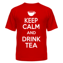 Футболка Keep calm and drink tea