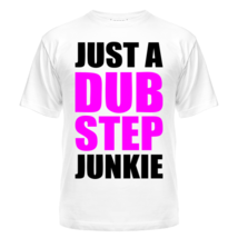 Футболка Just a dubstep junkie 2