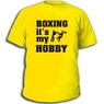 Футболка Boxing it's my hobby Бокс мое хобби