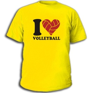 Купить Футболка I love Volleyball