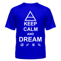 Футболка Keep calm and dream 30 Seconds to Mars