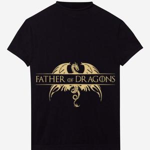 Футболка Father of Dragons gold logo