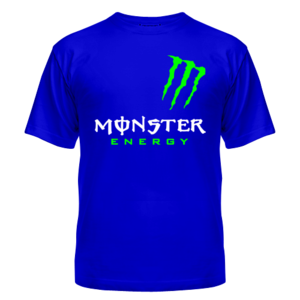 Футболка Monster energy, shoulder
