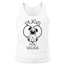 Майка Pugs not Drugs
