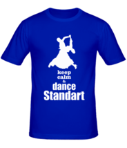 Футболка Keep calm dance standart