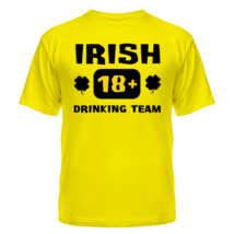 Футболка Irish drinking team