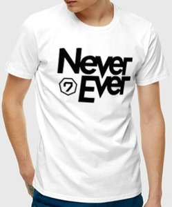 Футболка Never Ever Got7