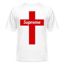 Футболка Supreme red cross