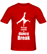 Футболка Keep calm & dance break