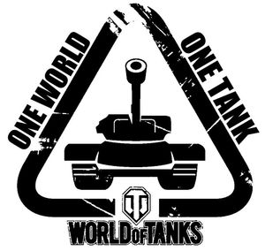 Наклейка World of Tanks one Tank