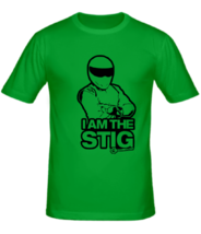 Футболка I am the Stig Top Gear