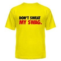 Футболка Don't sweat my Swag