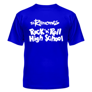 Футболка Ramones - Rock n Roll High School