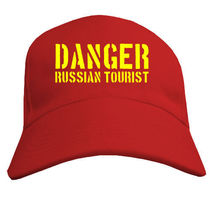 Кепка Danger Russian Tourist