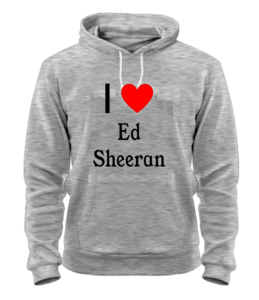 Толстовка Ed Sheeran love